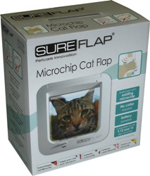 sureflap microchip cat flap box